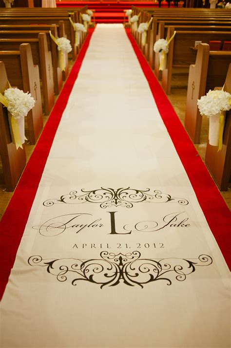 Wedding Aisle Runner by Wedding Ceremony Aisle Runner Onewed