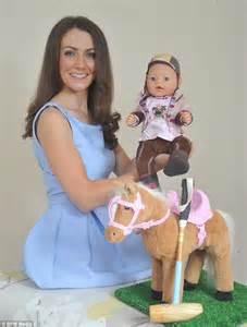 annabelle doll look alike duchess of cambridge lookalike gets own prince george