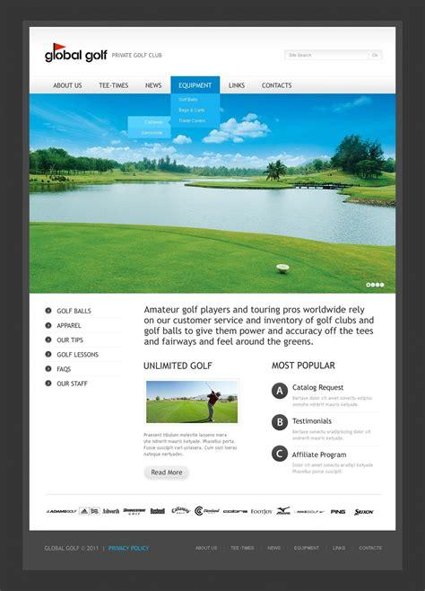 themes wordpress golf golf wordpress theme 33199