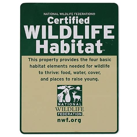 national wildlife federation backyard habitat turn your corps cus into a certified wildlife habitat