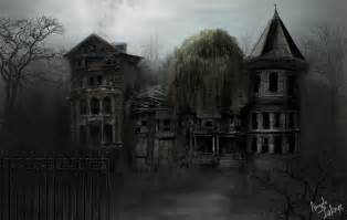 ghost house by lafa on deviantart