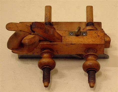 antique rodes rare boxwood carpenters plow plane