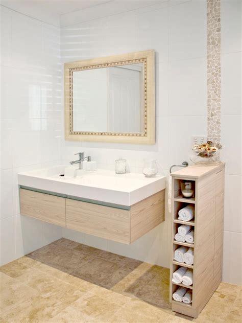 storage for small bathrooms 15 smart bath storage ideas hgtv