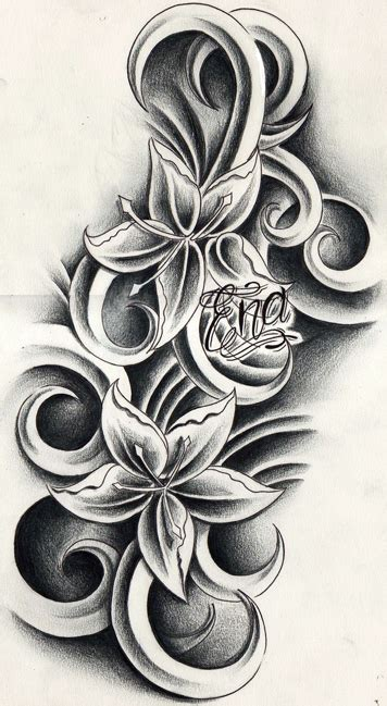 free tattoo designs tattoo gallery custom tattoo custom flowers tattoo design by willemxsm on deviantart