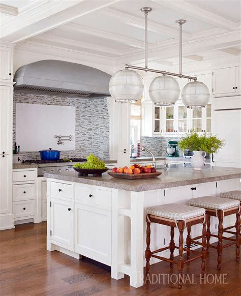hamptons kitchen great  entertaining traditional home