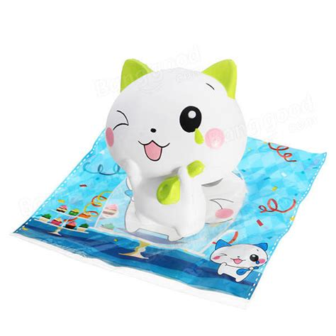 Squishy Adorable Baby Woow Woow Squishy Cat 13cm Rising Collection Gift