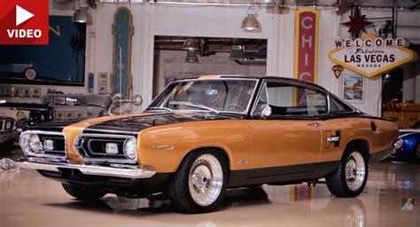 plymouth cars 60s plymouth hurst barracuda evokes the drag days