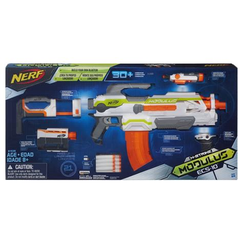 nerf n strike modulus ecs 10 blaster at hobby warehouse