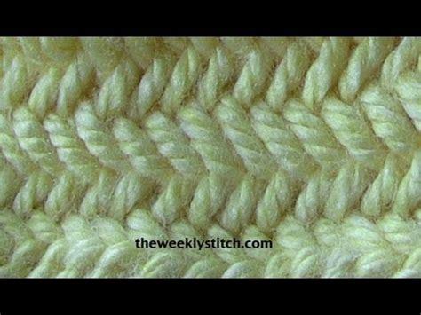 herringbone pattern youtube herringbone stitch in the round youtube