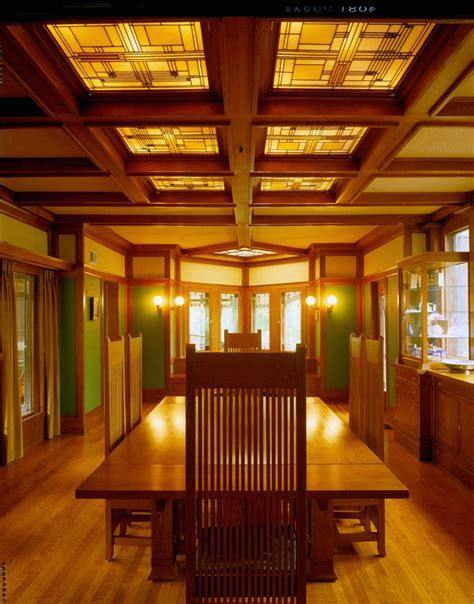 Pennsylvania House Dining Room Furniture by Frank Lloyd Wright Interiors Homedesignboard