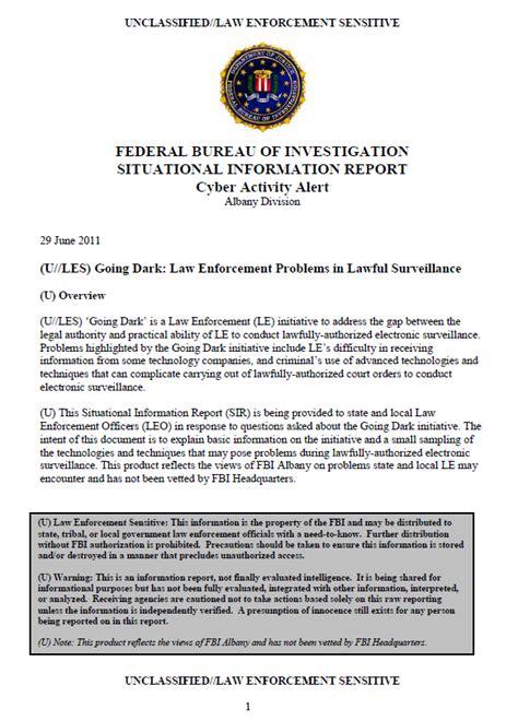 u les fbi going enforcement problems in