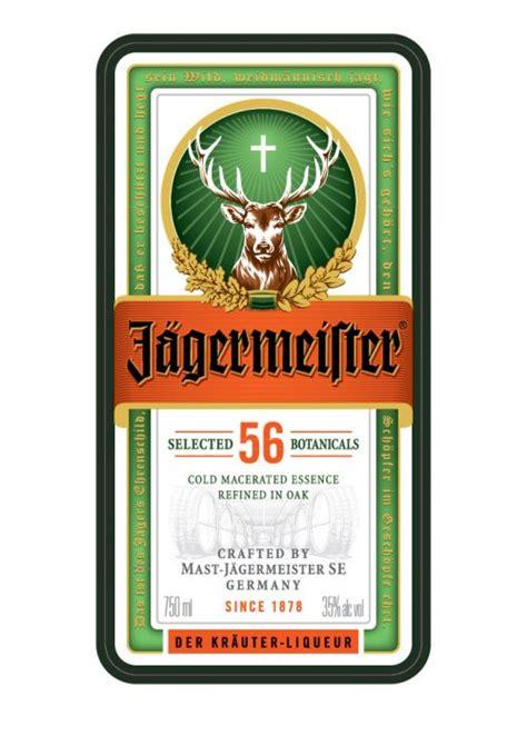 Jagermeister Liqueur Iowa Abd Jagermeister Label Template