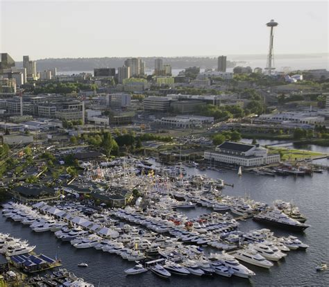 seattle boat show september lake union boats afloat show drops anchor wednesday