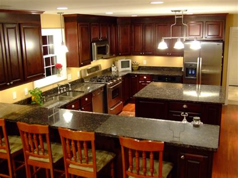 Kitchen Design With Island Layout by Small Kitchen Cabinet Layout Ideas Pictures Afreakatheart