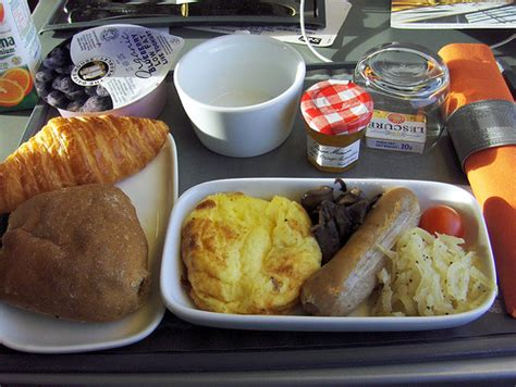 3d Camera eurostar breakfast by some quirk of scheduling first
