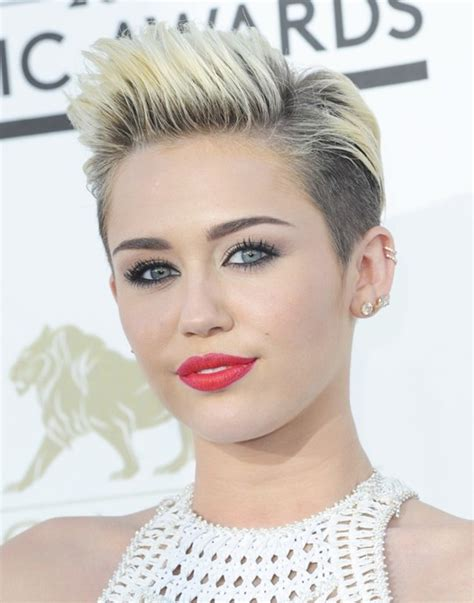 Miley Cyrus Hairstyle by Miley Cyrus Hairstyle 2014 Cool And Stylish