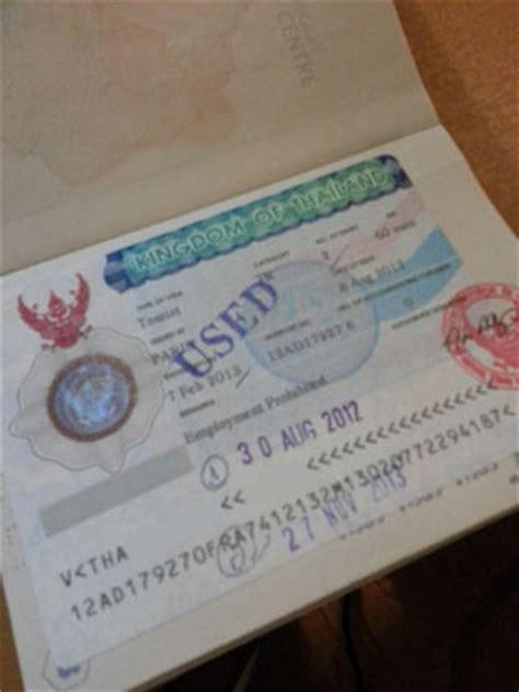 Lettre De Demande De Visa De Transit Visa Tha 239 Lande Partie 2 Types De Visa Le De Landolia
