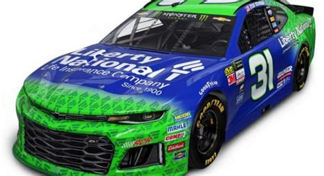 liberty national  sponsor ryan newman  rcr nascarcom
