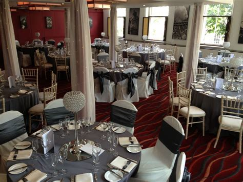 Wedding reception decor   ivory and silver theme at Ten