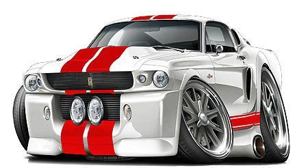 Union Jack Wall Stickers 1967 ford mustang fastback gt 500 kr 427 cartoon car wall