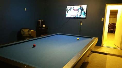 pool table in garage led pool table lights in my garage billiard room