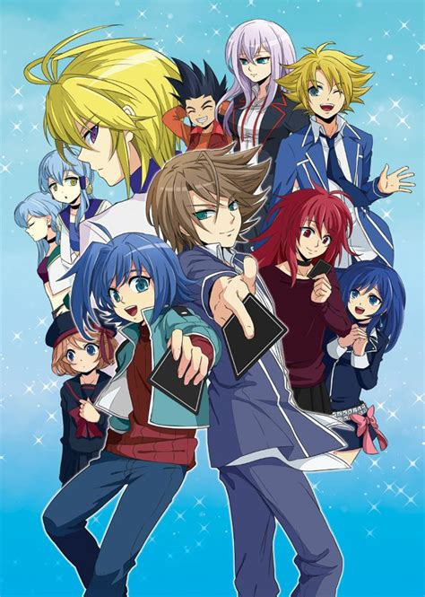 cardfight vanguard cardfight vanguard anime