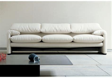 divano cassina 675 maralunga divano 3 posti milia shop