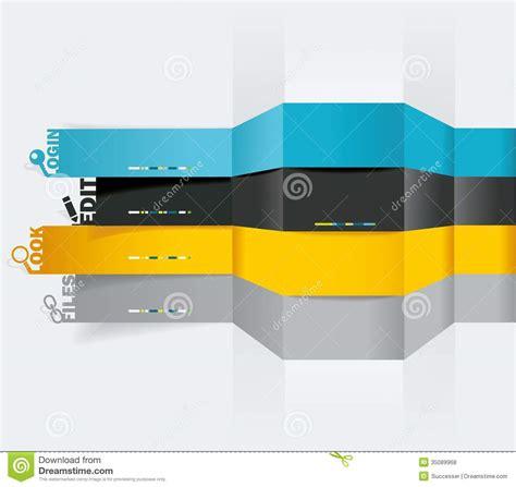horizontal layout web design vector web design template royalty free stock photos