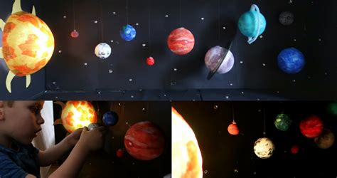 Light Up Solar System Light Up Model Solar System Craft Someone S