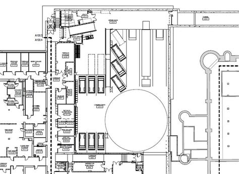loading dock floor plan proposed rendering for phase ii of the memorial union