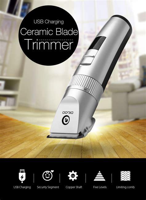Usb Bb digoo bb t1 usb ceramic x blade hair trimmer rechargeable