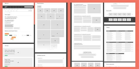 Wireframe Templates Bypeople Illustrator Wireframe Template