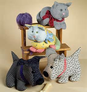 Patchwork Stuffed Animal Patterns - unavailable listing on etsy