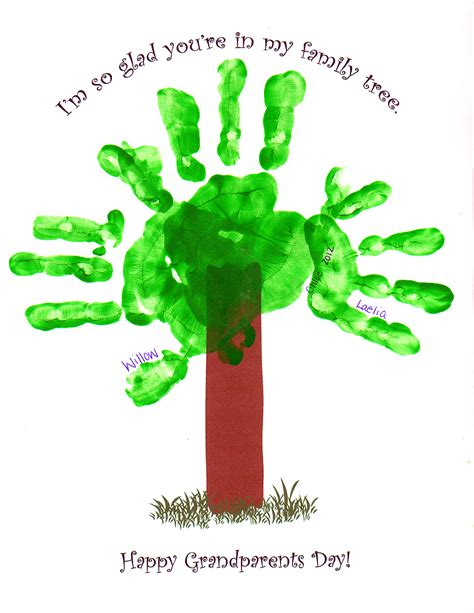 grandparents day craft ideas for handprint crafts for grandparent s day