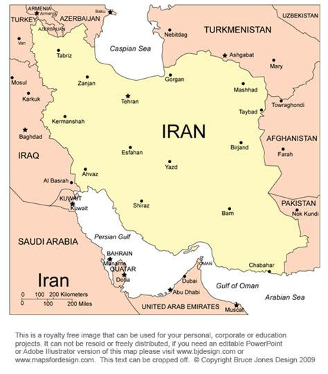 thran map free middle east and central asia countries printable