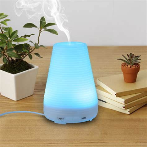 Ultrasonic Home Spa Humidifier led ultrasonic essential air aroma diffuser humidifier