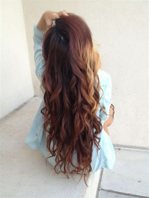 Getting Hair Curled And Color | get straight hair to hold curls longer hair pinterest