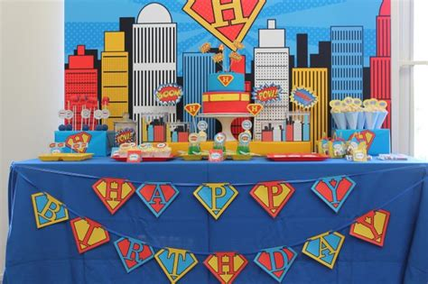 Superman Decorations by Superman Birthday On Anders Ruff