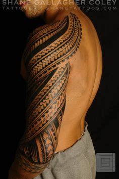 shane tattoos polynesian sleeve chest tatau tattoo shane tattoos polynesian sleeve tattoo tatau tatoo