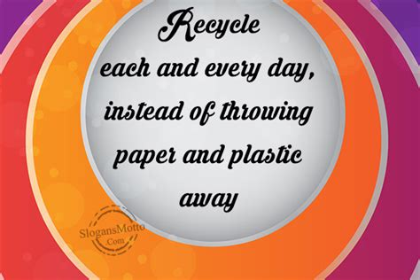 Mother Day Quotes by Recycling Slogans