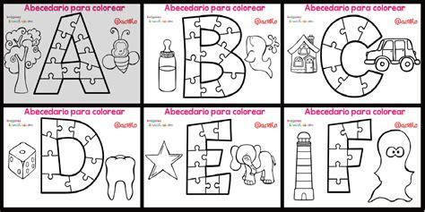 bajar imagenes educativas abecedario para colorear listo para descargar e imprimir