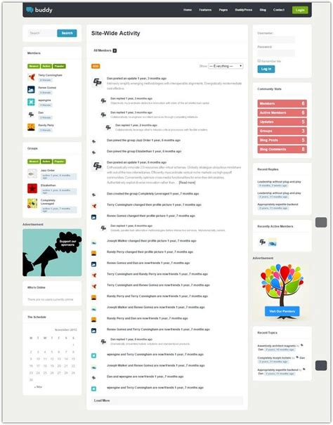 Buddy wordpress theme download