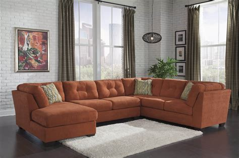delta furniture sectional delta city rust sectional sectional sofa sets