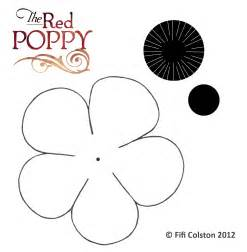 Poppy Printable Template by Easy Poppy Bunting Tutorial 187 Pint Sized Treasures