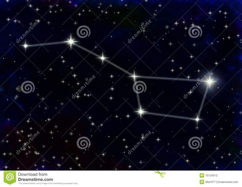great constellation constellation the great stock photography image 15124512