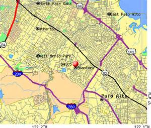 stanford california map 94305 zip code stanford california profile homes