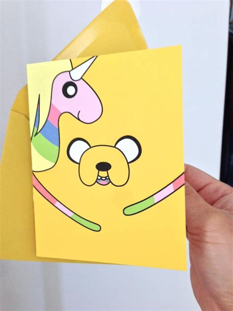 cards adventure time adventure time birthday card adventure time