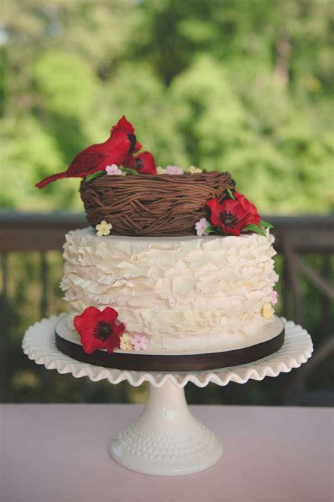 Pink Bird Wedding Angpao 65 best cardinal bird cakes images on