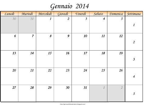calendario 2016 mensile plan calendario 2014 mensile calendar template 2016