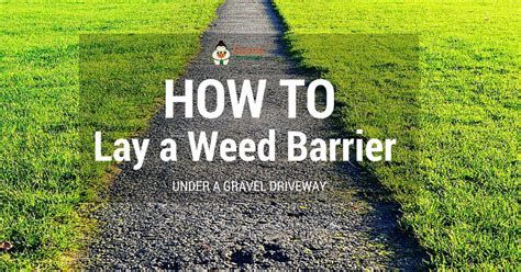 How To Lay Gravel Patio by How To Lay A Barrier A Gravel Driveway Sumo